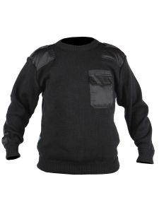 Commando Sweater Dampier Black - Storvik