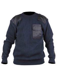 Commando Sweater Dampier Navy - Storvik